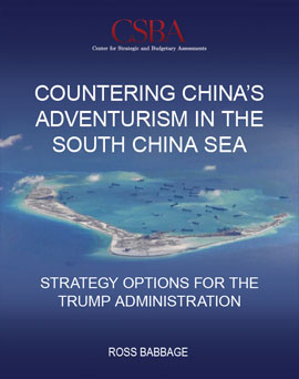 Countering China's Adventurism in the South China Sea Book Cover